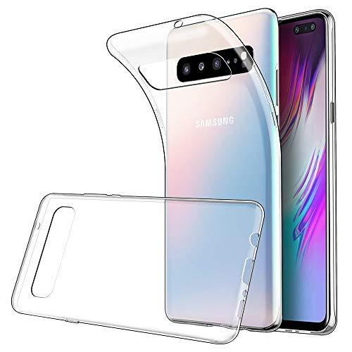 Simpeak Ersatz für Samsung Galaxy S10 5G Hülle [6,7 Zoll], Silikon Transparent Clear TPU SchutzHülle Case handyhülle für Samsung Galaxy S10 5G