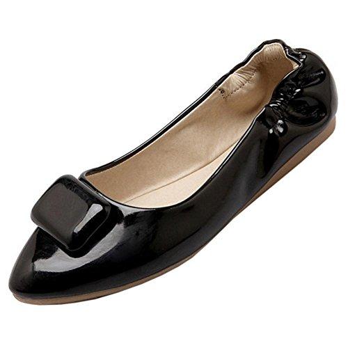 Flaneurs Femmes Black Chaussures Printemps TAOFFEN azAwEWqwP