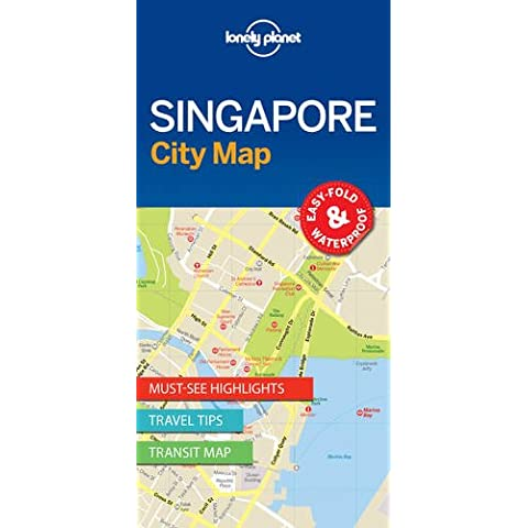Lonely Planet Singapore City Map (Lonely Planet City Maps)