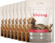 Amazon-Marke: Lifelong - Hundeleckerli, reich an Protein mit Rind (8 Packungen x 300gr)