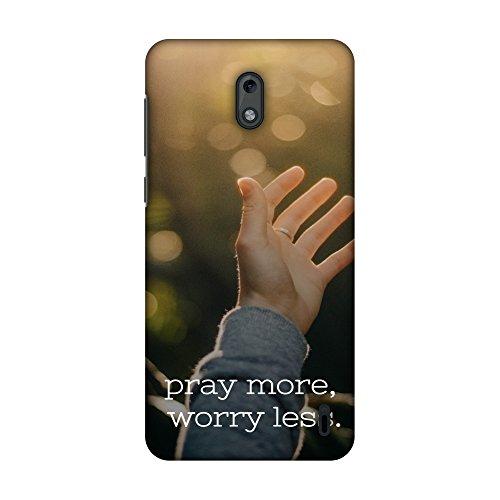 Amzer Slim Fit Handarbeit Designer Printed Snap On Hard Shell Schutzhülle Back Cover mit Bildschirm Reinigungs-Set Skin für Nokia 2–Koran 3HD Farbe, Ultra Light Rückseite Fall