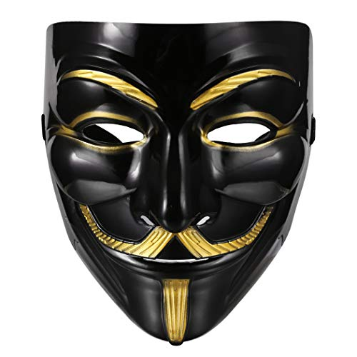 Ceanfly Vendetta Maske Halloween Kostüm Cosplay Guy Fawkes -