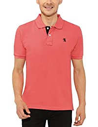 The Cotton Company Men's Luxury Cotton Polo T-Shirt - Fuschia Pink