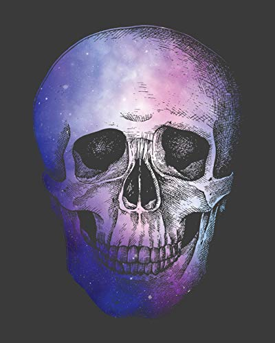 Haunted Hayride Ideen - Purple Skull Head: Blank Recipe