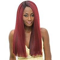 Wig Parrucche Rosse Lunghe Capelli Lisci per Le Donne Parrucca Cosplay  Fibra Resistente al Calore dall 32250f3dbdae