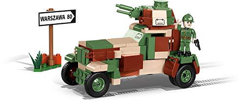 Konstruktion Spielzeug kleine Armee wz.34 - leichter Panzerwagen Bausteine COBI