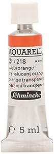 Schmincke Horadam Aquarelle 5ml Translucent Orange
