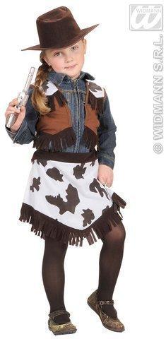 Kinder-Kostüm-Set Cowgirl, Größe (Kinder Cowgirl Kostüme)