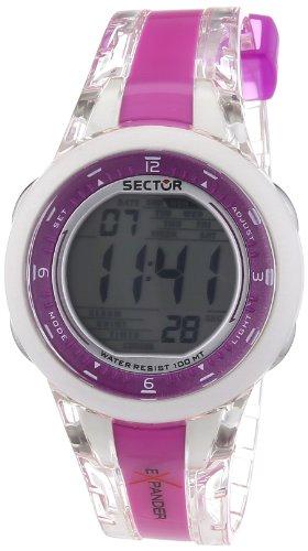 Sector R3251372515 - Reloj digital unisex de cuarzo con correa de silicona multicolor