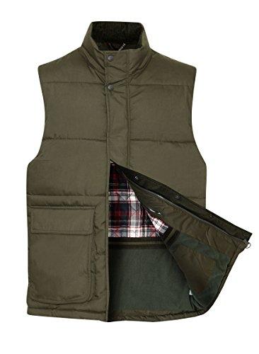 Champion - Manteau sans manche - Uni - Homme vert olive
