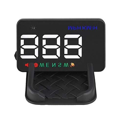 Globalflashdeal Universal Auto Hud GPS Tacho Kopf Up Display Digital Geschwindigkeits Warnung Windschutz Scheibe Projetor Auto Navigation