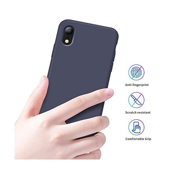 Oihxse Mate Líquido de Silicona Gel Funda - Compatible con Samsung Galaxy A50 Ultra Fina Suave Protección Carcasa… 5