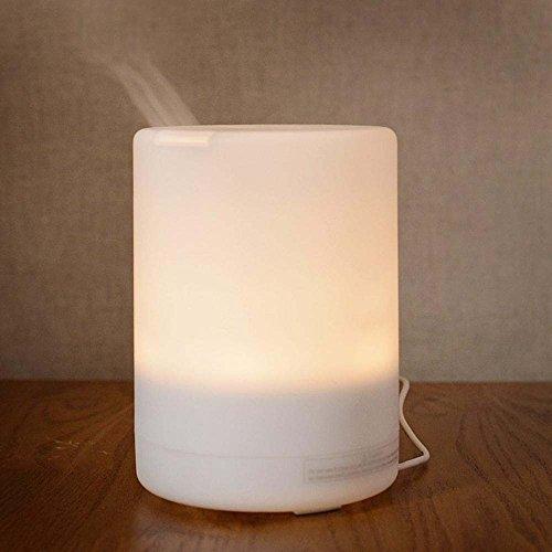 Feuchtigkeit Nebel Feuchtigkeitsspendende Feuchtigkeitscreme (Daeou Ultraschall Aromatherapie Maschine bunte Luftbefeuchter ultra-leise Desktop-Luftreinigung Feuchtigkeitscreme)