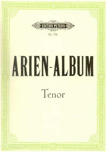Arien Album Tenor Chant