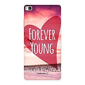 Neo World Infinity Love Back Case Cover for Huawei P8