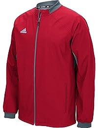 new arrival 9f3c2 348cd adidas Uomo Climawarm Fielder S Choice Jacket, Uomo, Power Red
