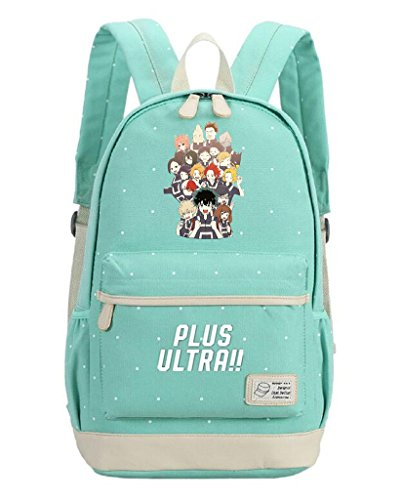 senschaft Anime Boku No Hero Wissenschaft Cosplay Rucksack Tagesrucksack aus Segeltuch Tasche Large 3 ()