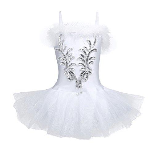 Freebily Vestido Fiesta Actuación Maillot Ballet