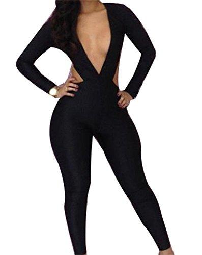 Jeansian équipé Sexy Chemise pour femme Robe Jupe culotte Chemise Noir - Noir