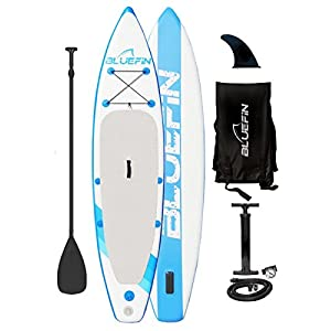 "41zpqRhQgcL. SS300  - Bluefin SUP Inflatable Stand Up Paddle Board | 6"" Thick 