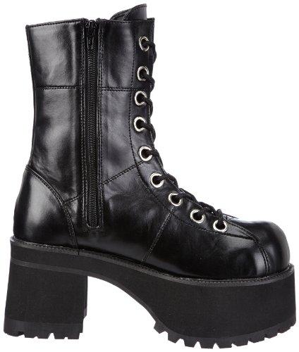 Demonia Ranger-301, Bottes Femme Noir (schwarz)