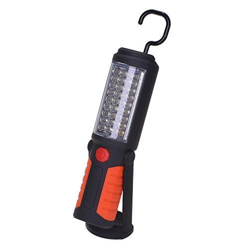 LED COB Lampe Travail Rechargeable Lampe Poche Aimant Torche Blanche Pour Garage