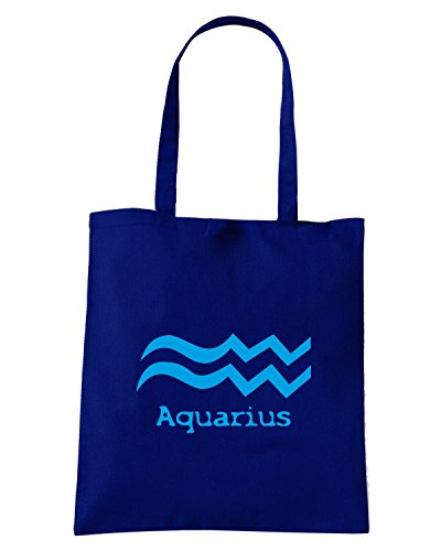 T-Shirtshock - Borsa Shopping T0209 aquarius religioni celtic Blu Navy