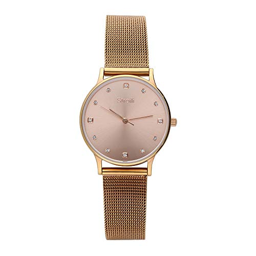 Stroili - Solo tempo cassa e bracciale in acciaio - quadrante rose gold per Donna