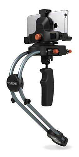 Steadicam Monte Smoothee para Smartphone y la cámara con el Adaptador Universal