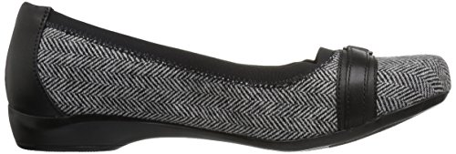 Clarks, Sneaker donna Black Tweed Combination