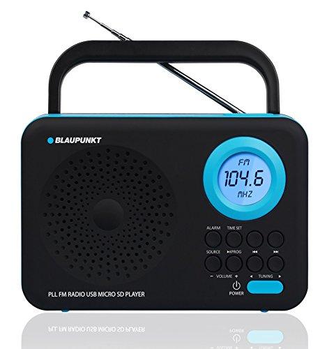 blaupunkt-pp12bk-radio-portatile-con-lettore-mp3-usb-sd-sveglia-e-display-lcd-colore-nero