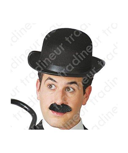 Doof Kostüm Y Dick - Guirca Fiestas GUI13501 - schwarzer Melonenhut aus Filz
