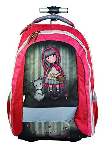 GORJUSS Little Riding Hood Schulranzen, 47 cm, Red Schwarz (Red Riding Hood Zubehör)