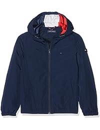 Tommy Hilfiger Ame S Hooded Zip Jacket, Chaqueta para Niños