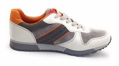 Hengst  370254, Chaussures de ville à lacets pour homme Gris