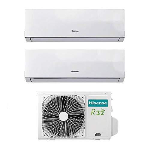 Condizionatore Climatizzatore Dual Split Inverter Hisense Comfort 9000+9000 9+9 Btu A++ AMW2-16U4SGD1