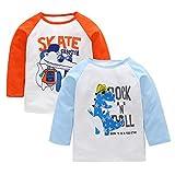 Best Mud Pie Clothing For Boys - PLOT Newborn Baby Girls Boys Animal Tops T-shirt Review