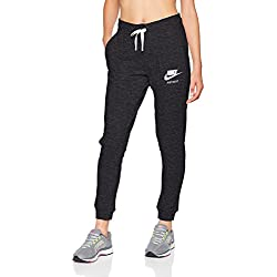 Nike NSW VNTG Trousers, Woman, Black / Candle, M