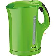 Bomann WK 5011 CB - Hervidor de agua eléctrico, capacidad 1,7 l, 2200 W, color verde
