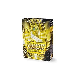 Arcane Tinmen ApS ART11114 Sleeves: Dragon Shield Matte Japanese Yellow (60)