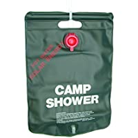 Explorer Solardusche 20 Liter Dusche Solar Sonnenlicht tragbar Pooldusche Sommer Shower Beutel Camping Campingdusche Garten Gartendusche