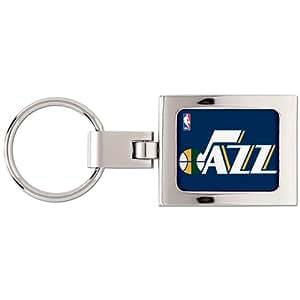 Utah Jazz Gewölbtes Schlüsselanhänger