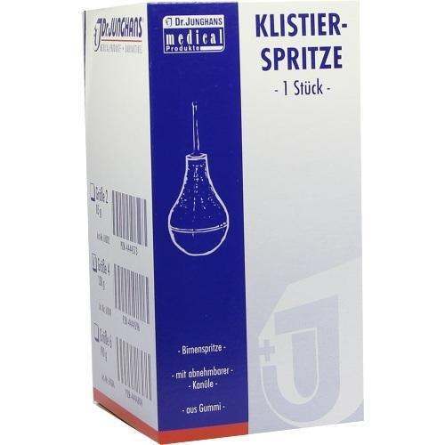 KLISTIERSPRITZE 130 g Gr.4 b 1 St Spritzen