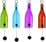 Esschert Design wv16Glas Flasche Windspiel sortiert