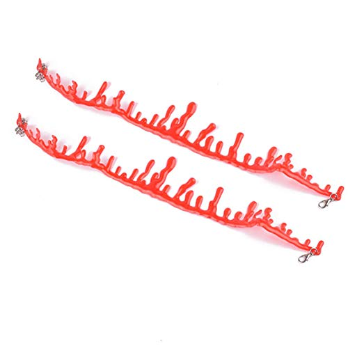 Newin Star 2ST Blut Halskette Thema Party Damen Supplies Halloween Party Horror Blut Tropf Schlitz Throat Necklace Bleeding Red einstellbar 11