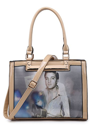 Big Handbag Shop, Borsa a mano donna Design 2 - Beige