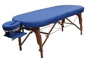 Massageliege Zen Oval FlatTop königsblau