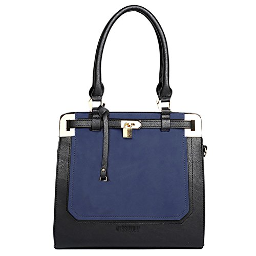 Plover Donna Pelle sintetica borsetta Borse cross-body borse da festa Borse Messenger blue