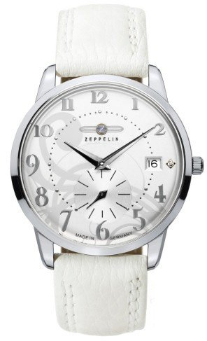 Zeppelin Inspiration 7337-1 Flatline Montre-Bracelet pour Femmes Fabriqué en Allemagne