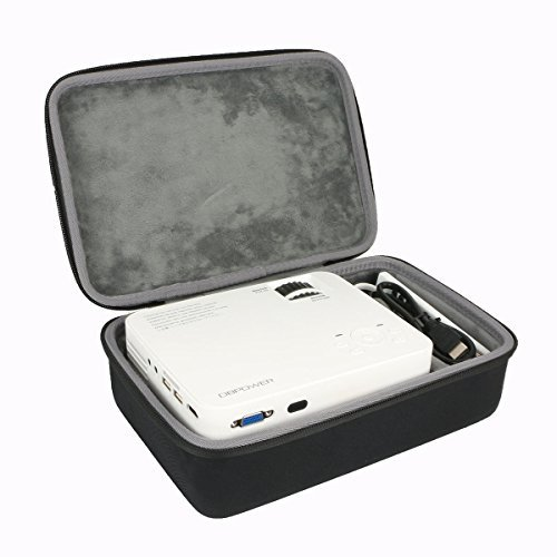 Hart Reise Schutz Hülle Etui Tasche für DBPOWER Beamer T21 LCD Minibeamer von co2CREA